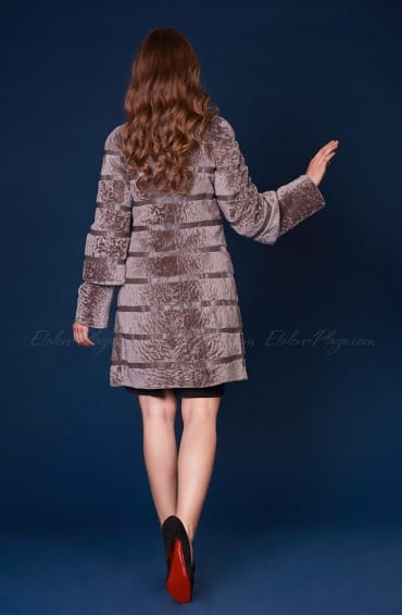 Women's Suede Sheepskin coat for