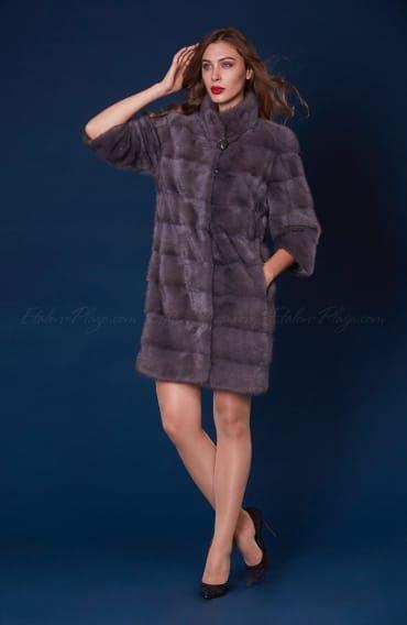 Women's mink fur coat