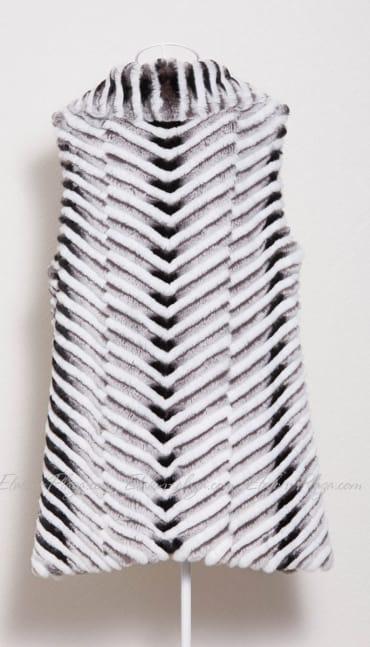 Women's fur vest