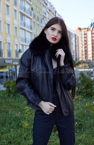 Куртки з хутром песця К1311