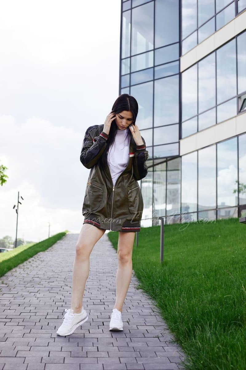 Demi-season women's jacket