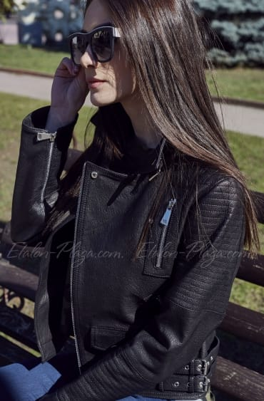 Women's Leather Jacket K1198