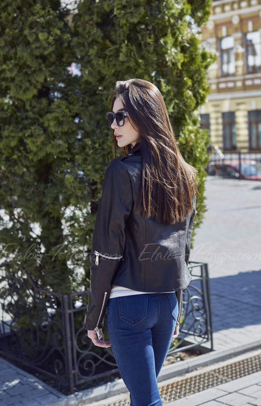 Женская кожаная куртка К1200