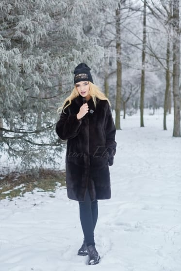 Mink coat