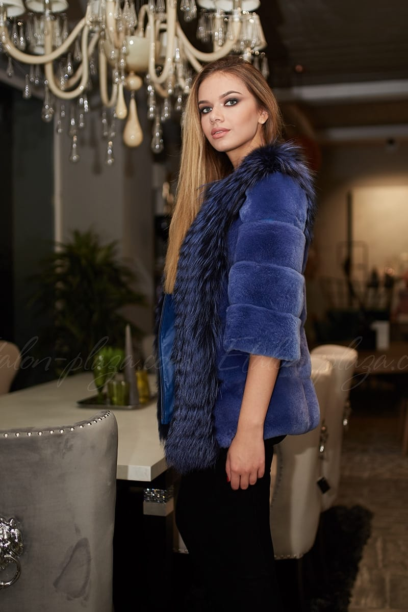 Women's Fur coat - waistcoat