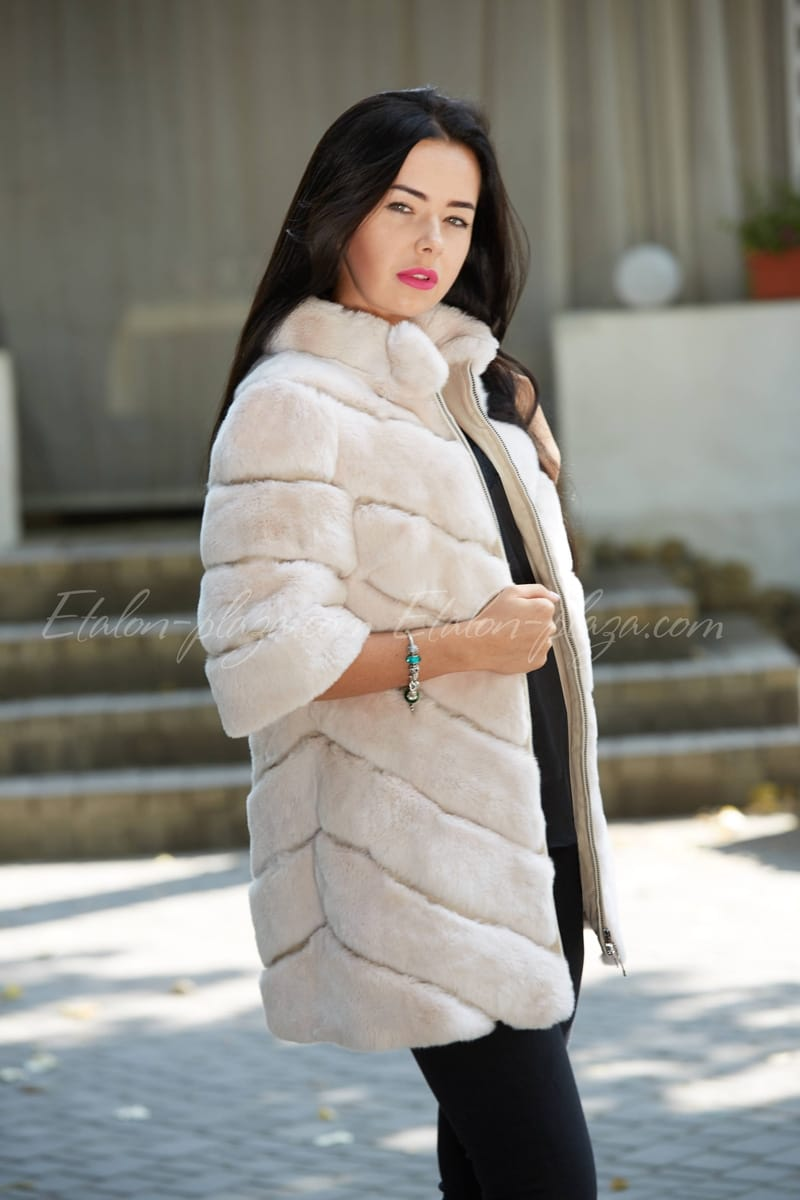 Women's Sheepskin Coat Rex