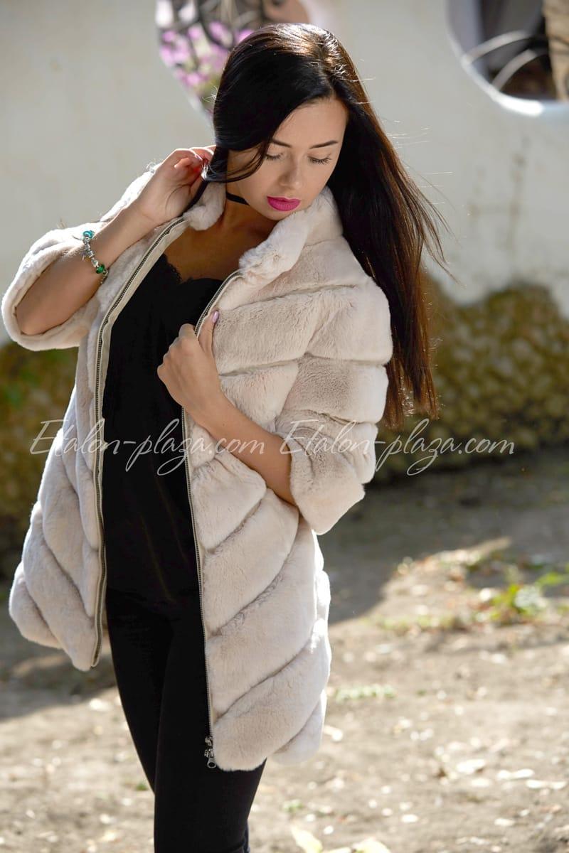 Women's Sheepskin Coat Rex