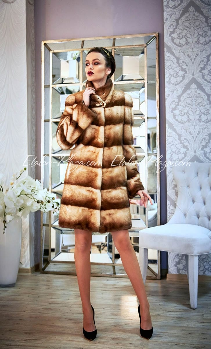 Women's fur coat from Mink