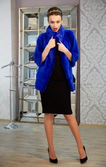 Женская Норковая Шуба