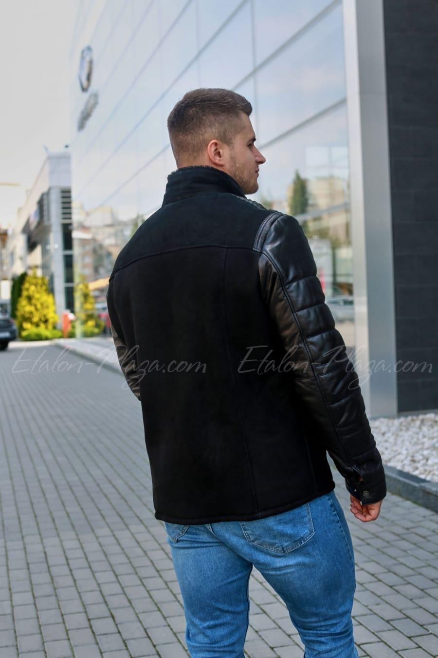 Мужская куртка дубленка КД1230