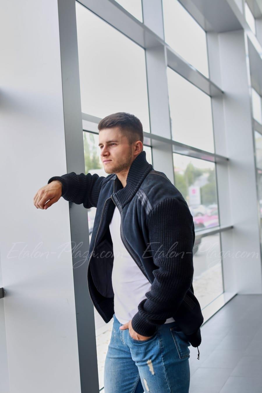 Мужская куртка дубленка