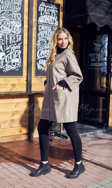 Жіноча куртка плащ КП1178