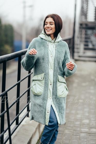 Jacket fur coat