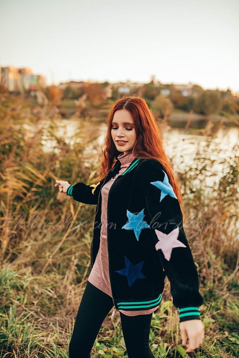 Женская шуба-куртка