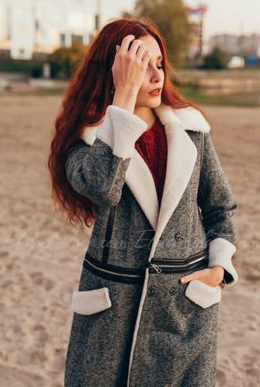Женское пальто трансформер