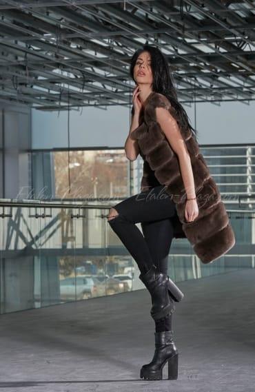 Женская Жилетка Пуховик