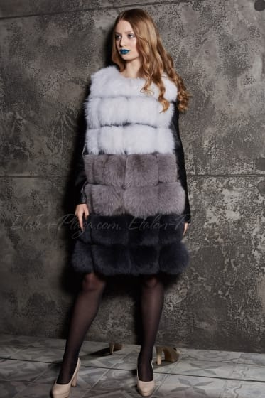 Women's fur vests