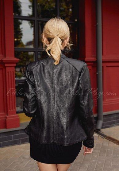 Women's leather jacket